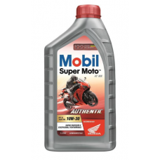 MOBIL SUPER MOTO 4T MX SAE 10W30 SL AUTHENTIC SEMISSINTETICO
