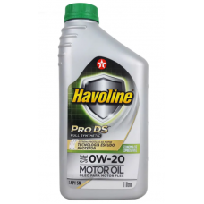 TEXACO HAVOLINE PRO DS FULL SYNTHETIC SAE 0W20 SN